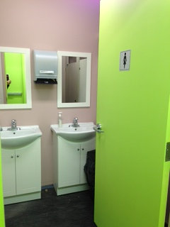 new washroom