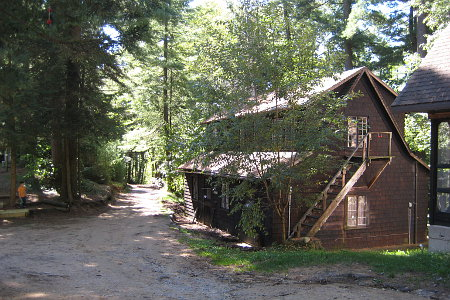 cabin at Camp Unirondack